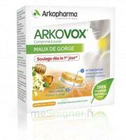 Arkovox Comprimés à Sucer Miel Citron B/20 à CAHORS